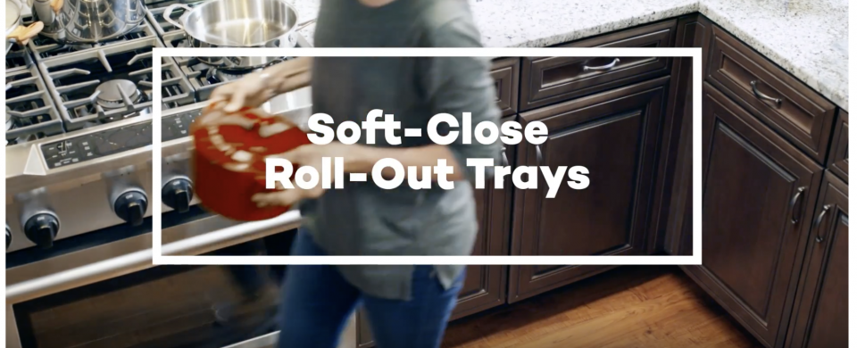 KraftMaid® Deluxe Soft- Close Roll-Out Trays