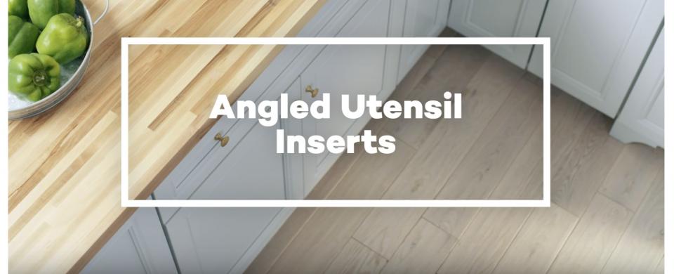 KraftMaid® Angled Utensil Drawer Organizers