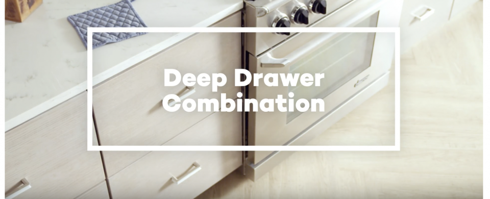 KraftMaid® Deep Drawer Combination
