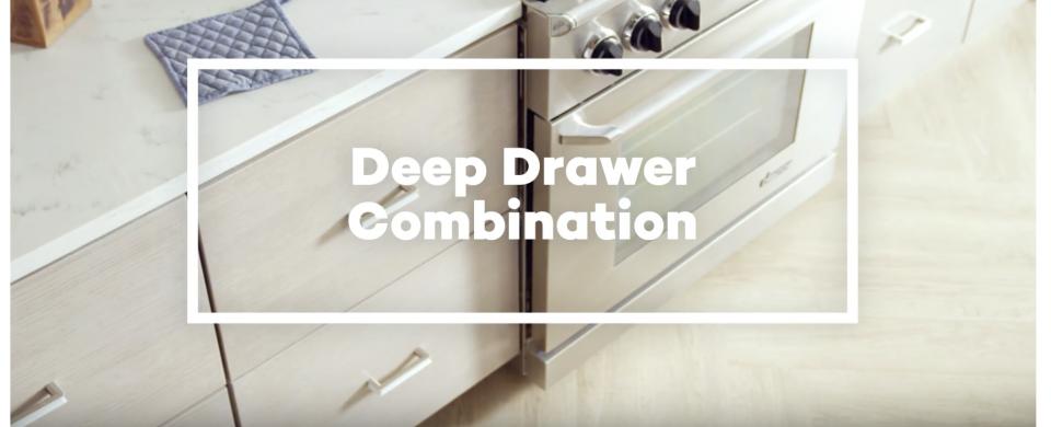 KraftMaid® Deep Drawer Combination