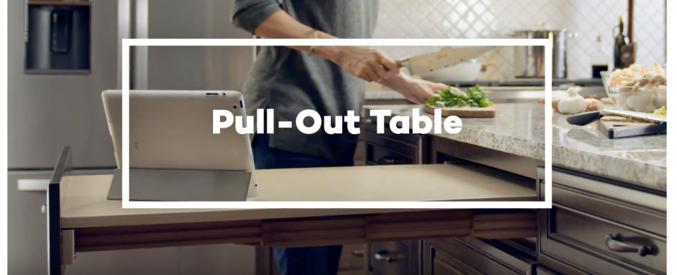 KraftMaid® Pull-Out Table