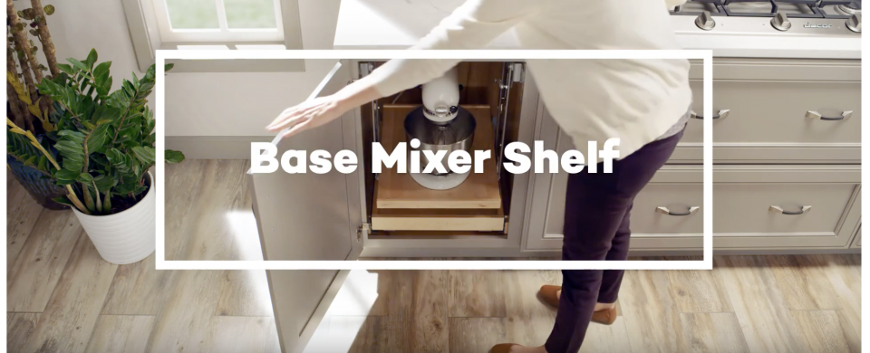 KraftMaid® Base Mixer Shelf